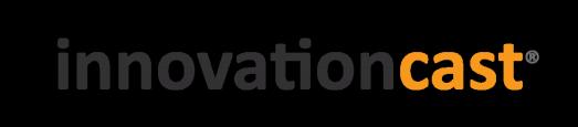Logo systemu innovacioncast do zarządzania innowacyjnością