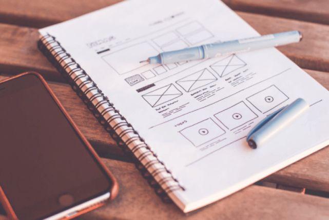 Grafika prezentująca UX, system oraz dopracowany interfejs