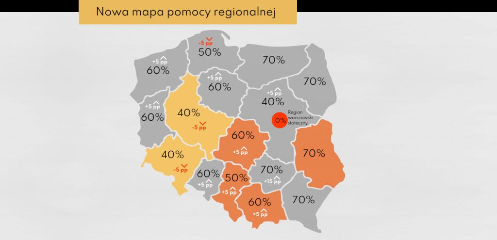 Mapa pomocy regionalnej nowa perspektywa